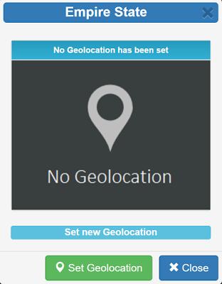 Setear GeoLocalización