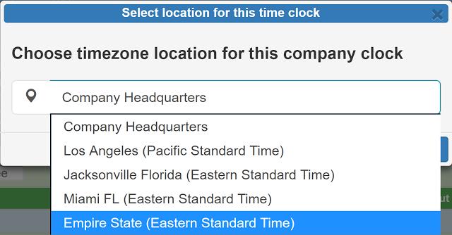 autorizar reloj de una sucursal